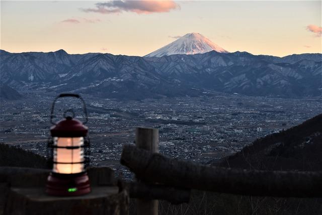 Camping fuji views